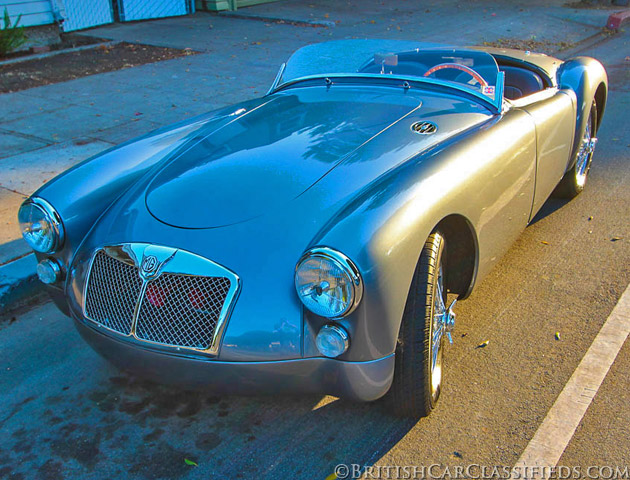Test Drive: 1961 MG MGA 1600