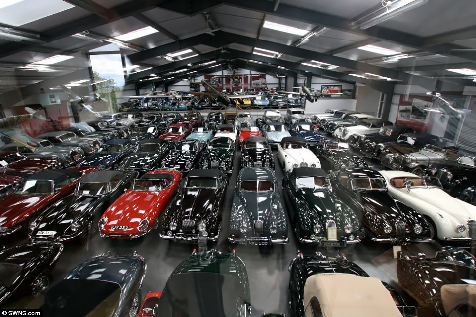 James Hull's Classic British Car Collection