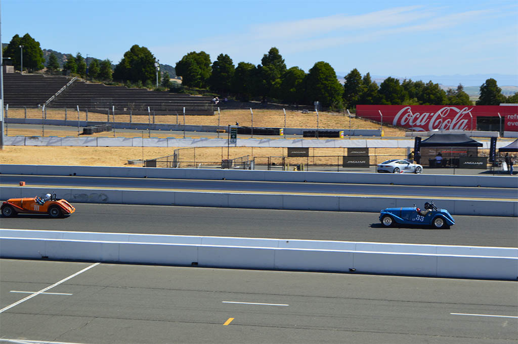 1958 +4 Morgan Race Car